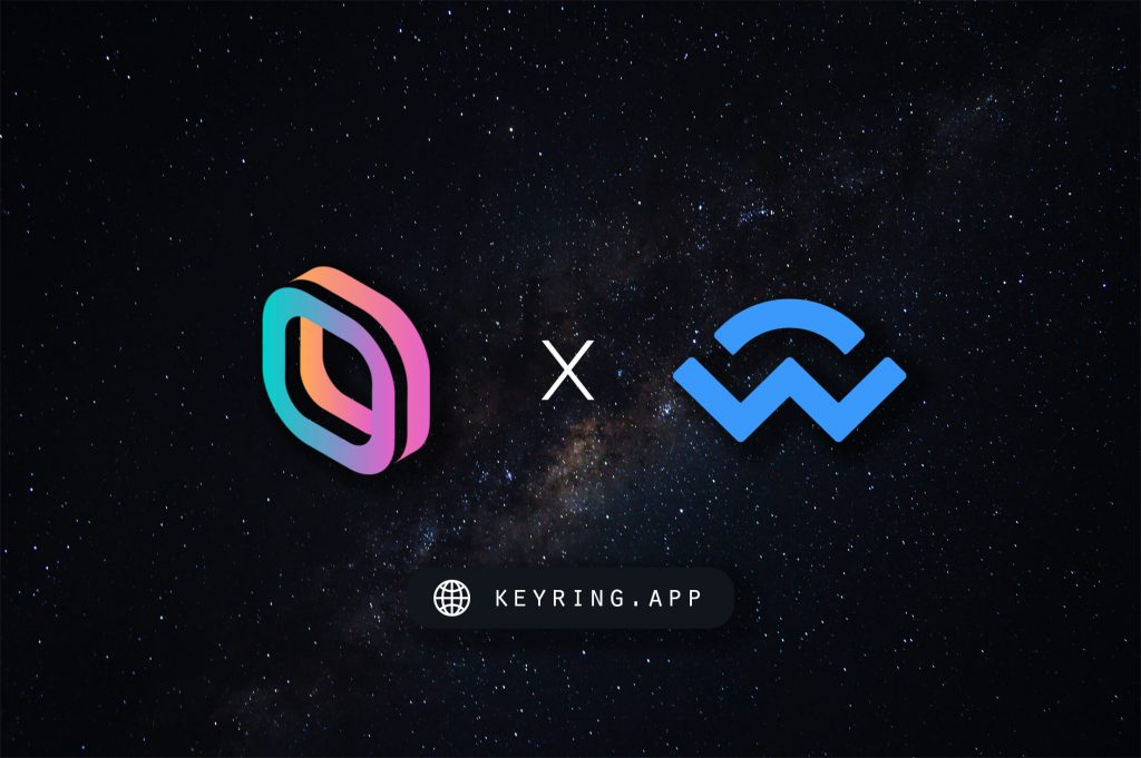 Keyring Wallet Connect App